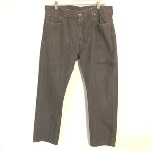Levi's 513 Men's Gray Washed Jeans Size 38 x 32